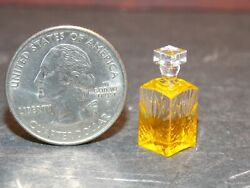 Dollhouse Miniature Liquor Bottle Decanter 112 One Inch Scale Y7 Dollys Gallery