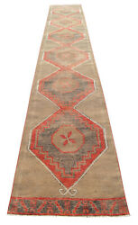 3x19 Ft Runner Hand Knotted Extra Long Runner Rug Low Pile Actual3.1 X 18.11 Ft