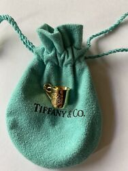 Rare And Co. 18k Yellow Gold Abc Baby Cup Charm Pre-owned