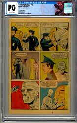 Amazing Fantasy 15 Cgc Page 11 Only 1962 Stan Lee 1st Appearance Of Spider-man