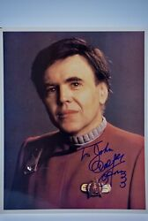 Walter Koenig Signed 8x10 Photograph From Star Trek Film - Collectible