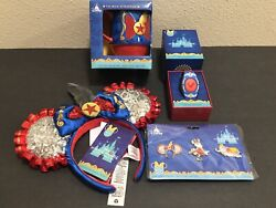 Earsmugpinsmagic Band Disney Minnie Mouse Main Attraction Dumbo Collection