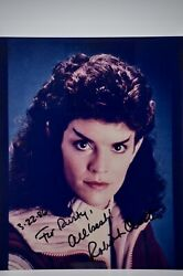 Robin Curtis Signed 8x10 Photograph From Star Trek Iii Film Collectible