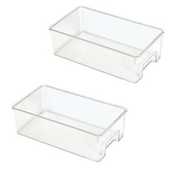 20xrefrigerator Organizer Bins Kitchen Storage Containers For Pantry Food