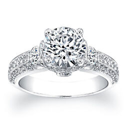 Real 1.50 Ct Round Diamond Engagement Solitaire Ring 14k White Gold Size 6 7.5 9