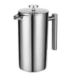 10xfrench Press Coffee Maker Coffee Percolator Pot Double Wall And Large Capacity