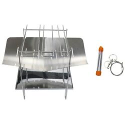20xoutdoor Portable Stainless Steel Folding Barbecue Grill Bbq Grill Camping