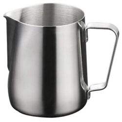 20xstainless Steel Frothing Pitcher Pull Flower Cup Cappuccino Coffee Milk Mugs