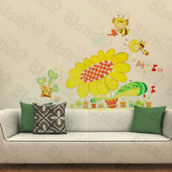 Beeand039s Garden - Wall Decals Stickers Appliques Home Dcor