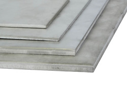 Stainless Steel Sheet 6mm V2a 1.4301 Panels Cut 100 Mm To 2000 Mm