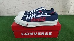 Converse Chuck Taylor All-star 70s Ox Kith X Coca Cola Blue Size 9m/11w New