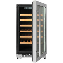 Thor 17 Inch 40 Bottle Wine Cooler Refrigerator Thermoelectric Chiller Freestand