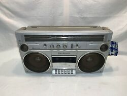 Vintage 1983 Sears Am/fm Stereo Cassette Recorder Radio Boombox