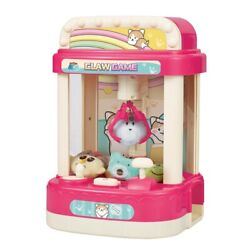 10xkids Doll Catcher Claw Machine Coin Operated Candy Grabber Game Music Alarm