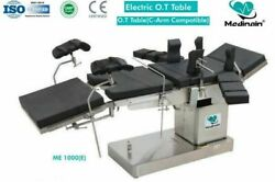 C-arm Compatible Fully Electric Operation Theatre Table Fully Electrically Table