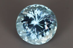 6.950 Ct Dazzling 100 Natural Earth Mined Rare Aaa+ Blue Aquamarine See Video