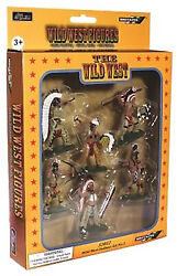 Britains Superdeetail Plains Indians - 6 In 6 Poses - 52012 Mib - Retired