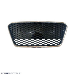 Fit For 13-15 R8 42 Gen1 Car Kühlergrill Euro Grill Grille Gloss Black/chrome