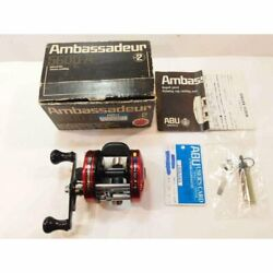 Abu Ambassador 5600a Bait Casting Reel Right Handed Palming Cup Fishing 1981