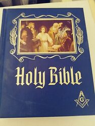 Masonic Holy Bible Master Reference Edition Heirloom 1971 Red Letter Freemasonry
