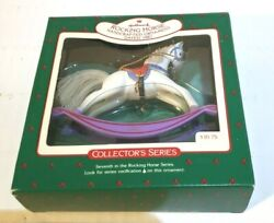 Hallmark Ornament Vintage Rocking Horse 1987 Collector Series 7th In Series