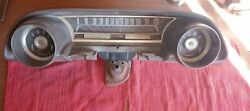 1963 Ford Galaxie 500 Xl Instrument Cluster Housing Assembly Good Condition