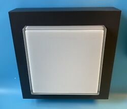 BEGA 3276 WALL AND CEILING LIGHT WALL LIGHT MATTE GRAPHITE SILVER