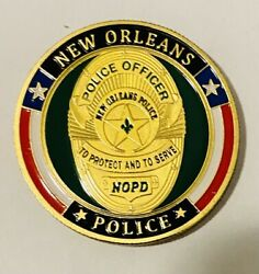 Sought After-unique-new Orleans Police Department Chaplain-police Challenge Coin