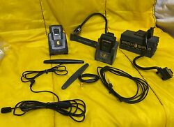 Bunch Of Watch Guard Police Car Video System Accessories