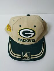 Green Bay Packers Cheese Head Citgo Snapback Cap Hat One Size Adjustable