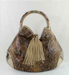 Rare Python Large Indy Hobo Verified Authentic ❤