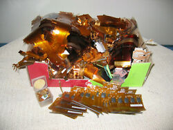 Mylar For Gold Recovery Au Scrap 4 Lbs Total Material