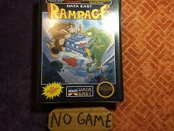 Rampage Nes Clamshell Case Reproduction Case Only No Game