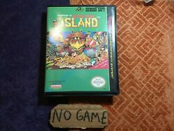 Adventure island Nes Clamshell Case Reproduction Case Only No Game