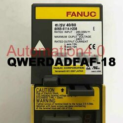 1pc Used Fanuc A06b-6114-h208 Tested In Good Condition Quality Assurance