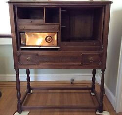 Rare Antique Benson And Hedges General Store Tobacco And Cigar Cabinet Tobacciana