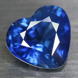 3.10 Cts Aig Certified 100 Natural Royal Blue Sapphire Heart_srilanka