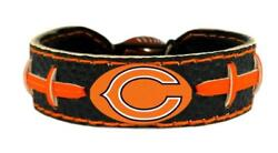 Chicago Bears Team Color Football Bracelet [new] Nfl Jewelry Necklace Wrist