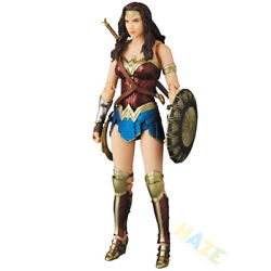 Movie Justice League Wonder Woman Mafex 048 Pvc Action Figure Model Toy In Box