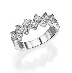 14kt Natural Diamond Eternity Ring 1.27ct Engagment Anniversary Special Moments