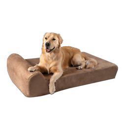 Big Barker Orthopedic Dog Bed Headrest Edition. For Large And Xl Dogs.