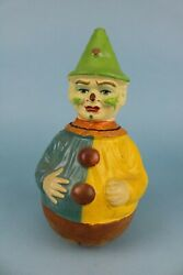 12 Antique Schoenhut Clown Roly Poly Great Colorful Paint Good For Doll Room