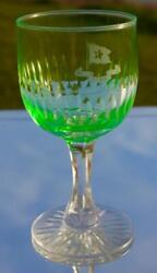 Red Star Line Green Crystal Glass White Star Line Rms Olympic Titanic Era Style