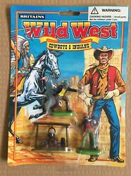 Britains , Wild West- Cowboys And Indians 1/32 Playset Figures, Moc, 90´s