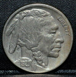 1920-s Buffalo Nickel ✪ Au Details ✪ 5c About Uncirculated L@@k Now ◢trusted◣