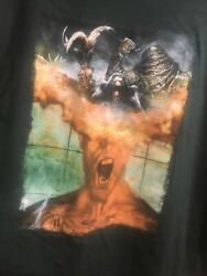 Dreamblade Collectable Miniatures Game Rare Promo T-shirt Menand039s 2xl ☆ 2-sided
