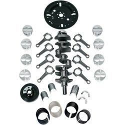 Scat Rotating Assembly 1-95250be Street And Strip-series 9000 For Ford 351w Sbf