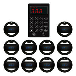 Singcall Wireless Calling Kitchen System To Call Waiter To Pick Dish 10 Watches