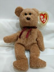 Ty Beanie Babies Curly-4052-sought After Errors-rare Find-excellent Condition