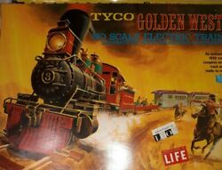 1960s Tyco Ho Golden West Train Set Never Run Except To Test See Details